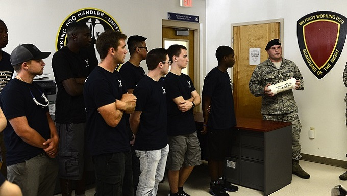 St. Pete Delayed Entry Program visits MacDill
