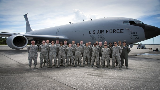 MacDill flies classroom for ROTC, USAFA cadets