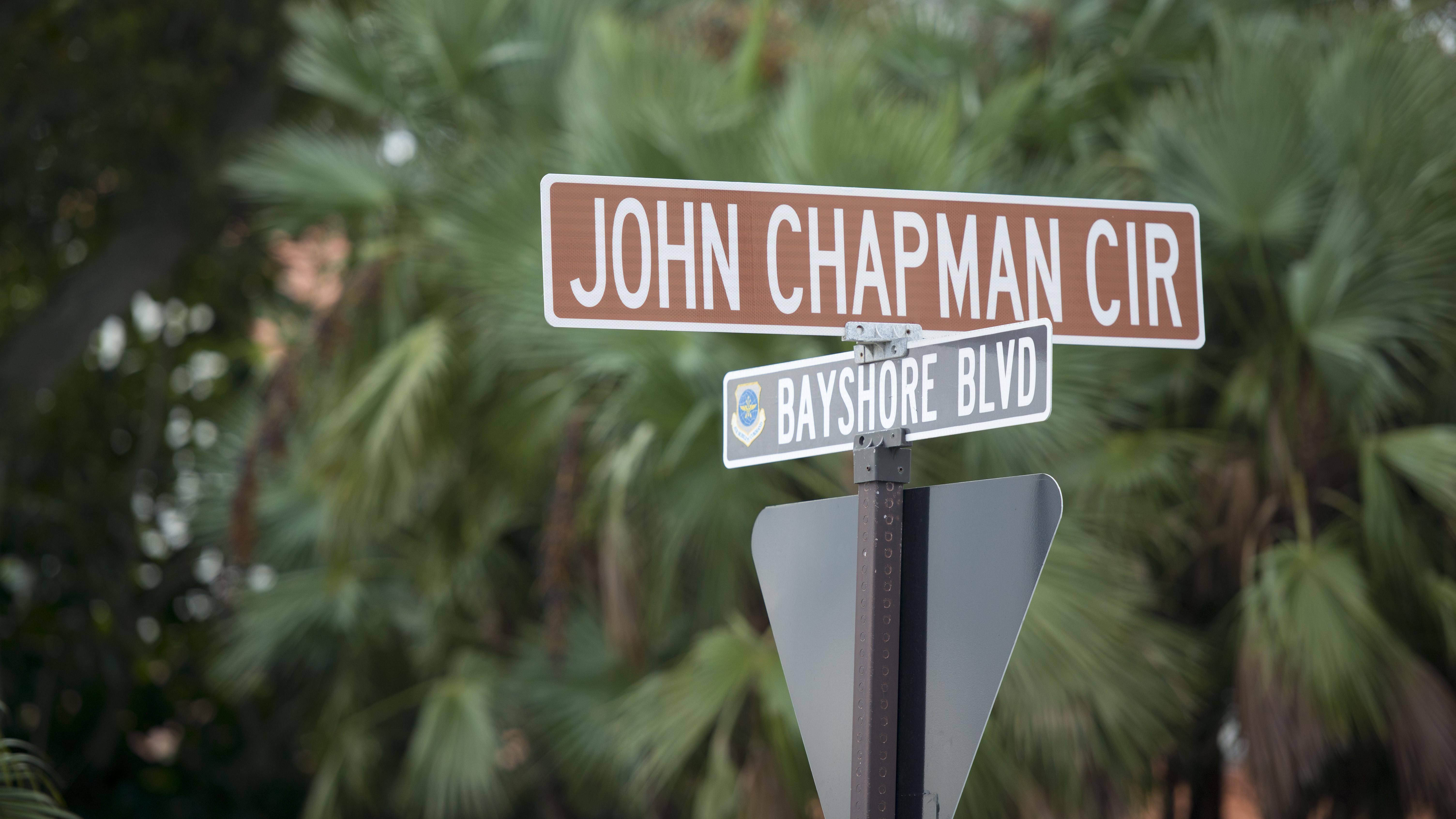 Chapman Circle honors fallen hero's legacy