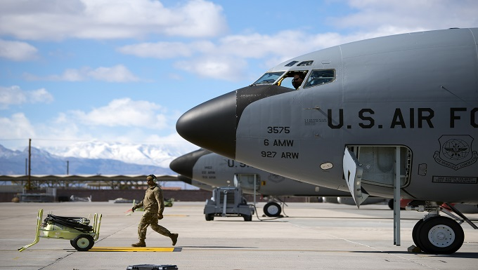 6th AMW refuels Red Flag