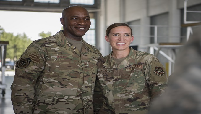 Chief Master Sergeant of the Air Force visits MacDill